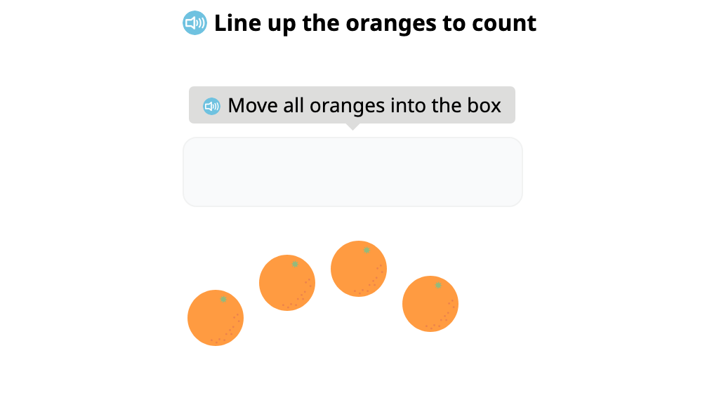 Align identical objects and determine the total