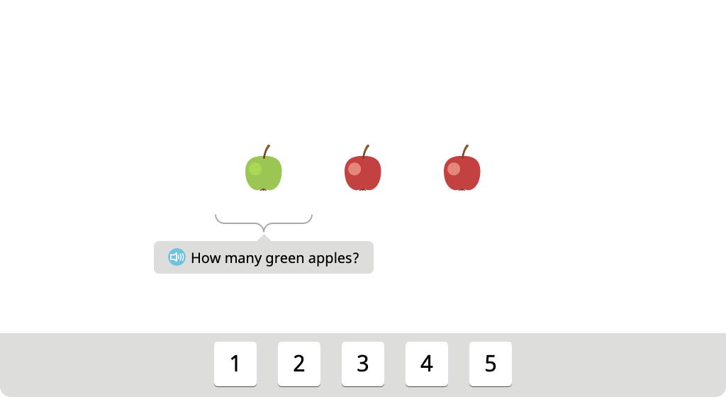 Count two groups of objects and determine the total (Part 2)