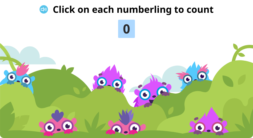 Tap objects to count the total to 7