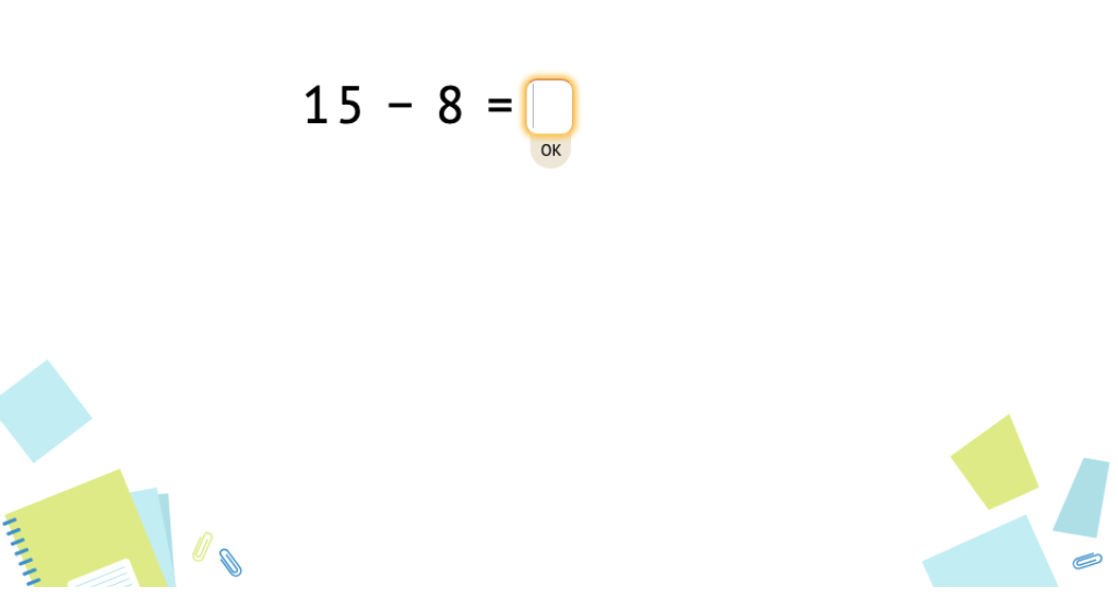 Solve +/- equations across 10 (Part 1)