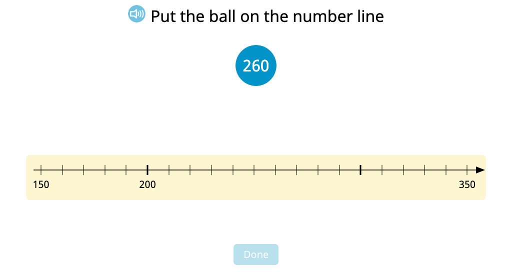 Add up to the next hundred with and without using a number line model