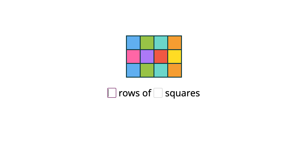 Describe a rectangular array by rows or columns using repeated addition (Part 3)