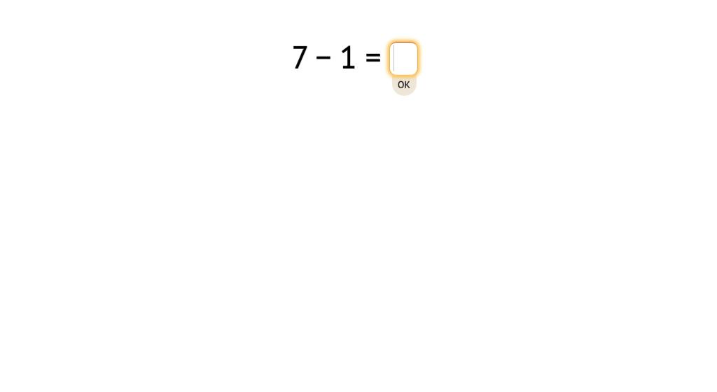 Solve -1 equations (Level 2)