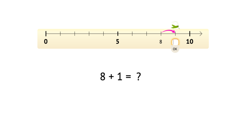 Solve +1 and -1 equations based on a number line model