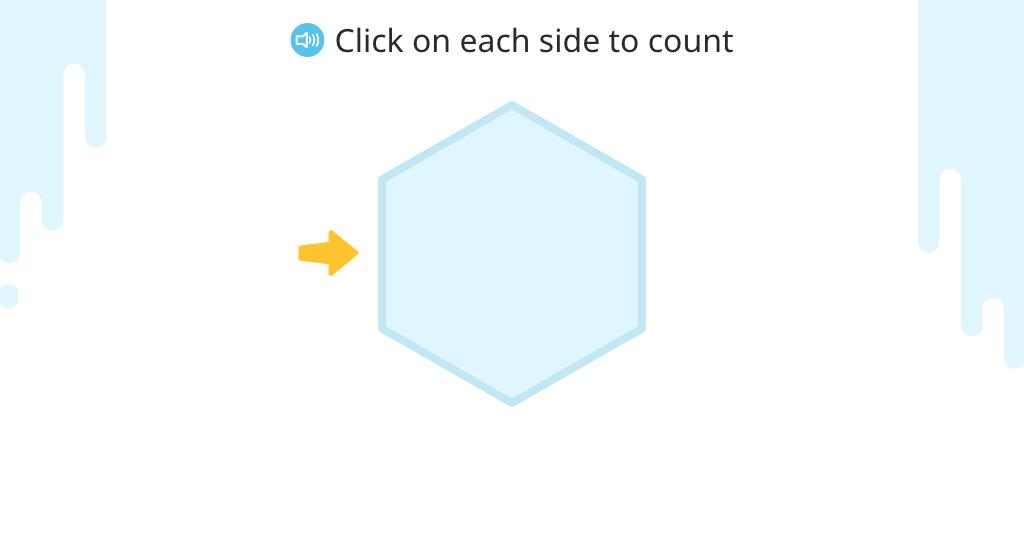 Identify properties of hexagons