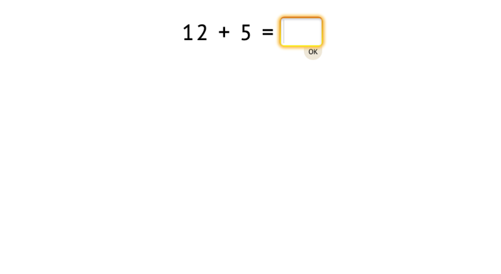 Solve +/- equations that use numbers in the second ten and a single-digit number (Part 1)