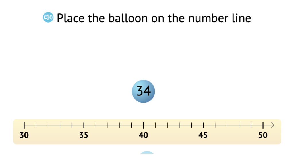 Determine a missing addend to add up to the next round number and solve the equation (Part 1)
