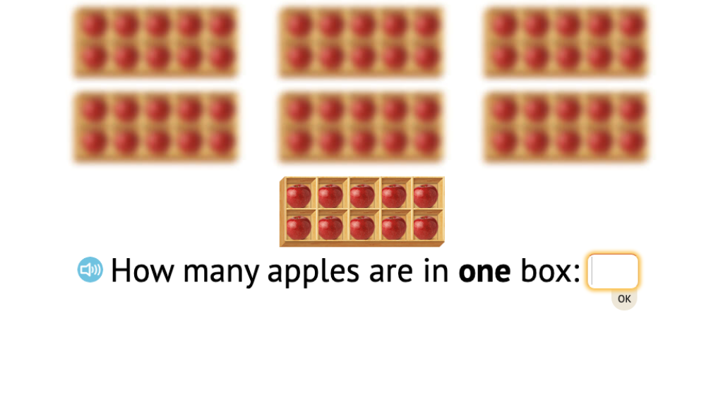Determine 2-digit totals of objects in ten-frames or base-10 blocks
