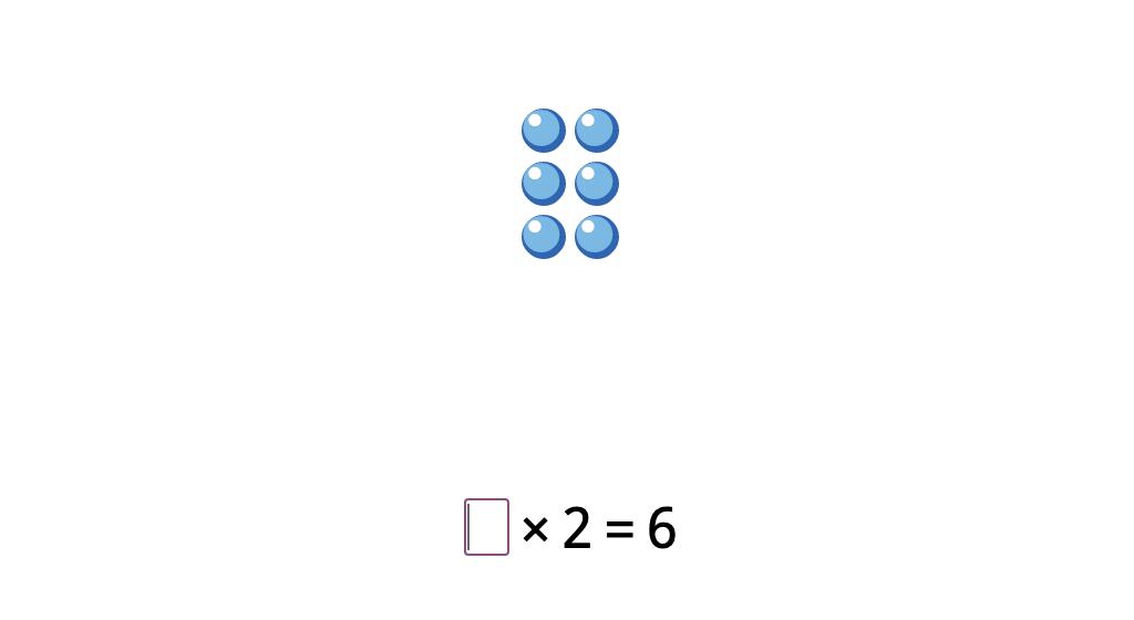 Solve a missing factor multiplication equation based on a model