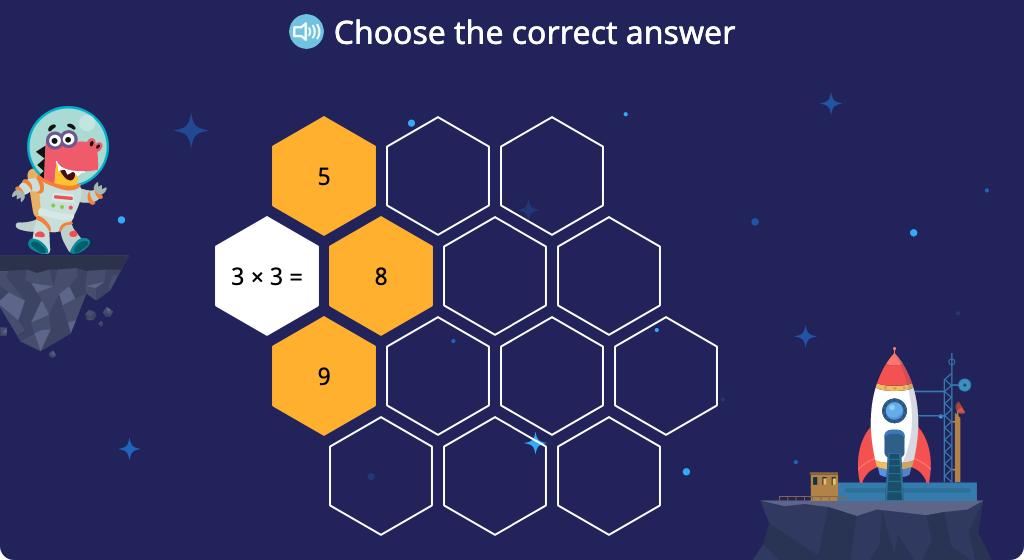 Solve x3 multiplication equations (Level 1, Part 1)