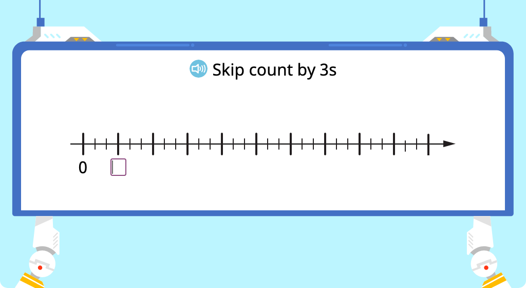 Skip count by 3 (Level 2)