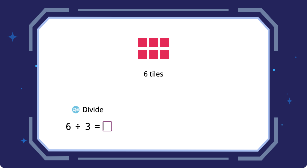 Complete equations to relate multiplication to division (Part 2)