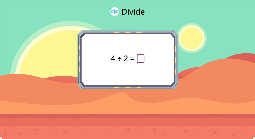 Solve division equations with a divisor of 2 (Level 2)