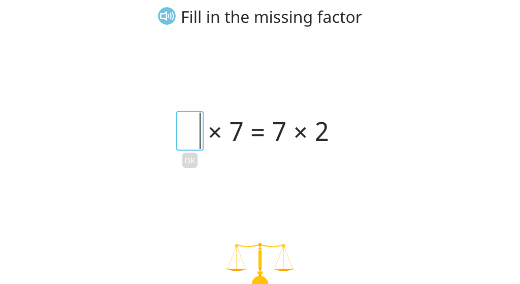 Solve equations that illustrate the commutative property