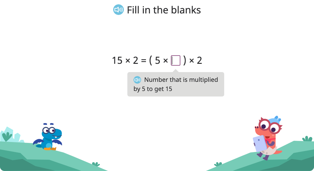 Re-group factors with parentheses as a strategy to solve multi-step multiplication equations (Part 2)