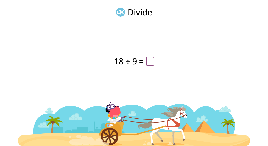 Solve division problems with a divisor of 9 (Level 1)