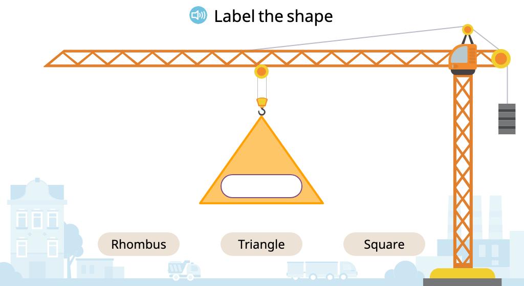 Identify 2-dimensional shapes