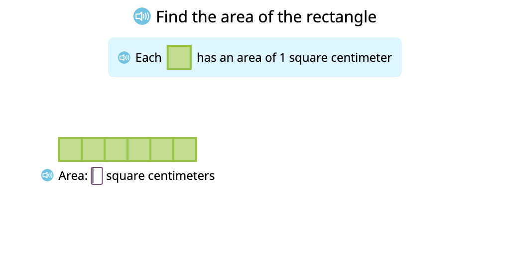 Determine area of a rectangle made by rearranging tiles from another rectangle