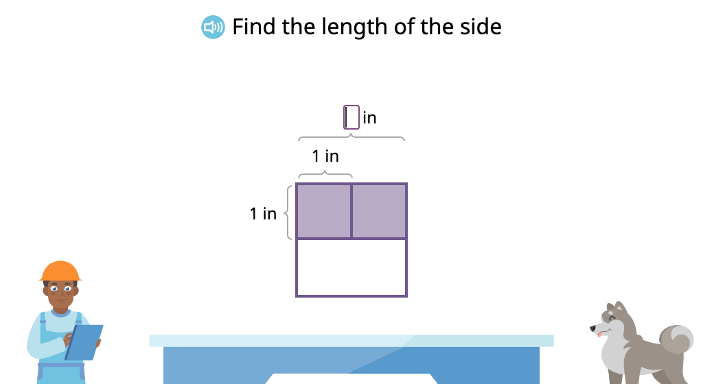 Determine area by skip counting tiles in each row