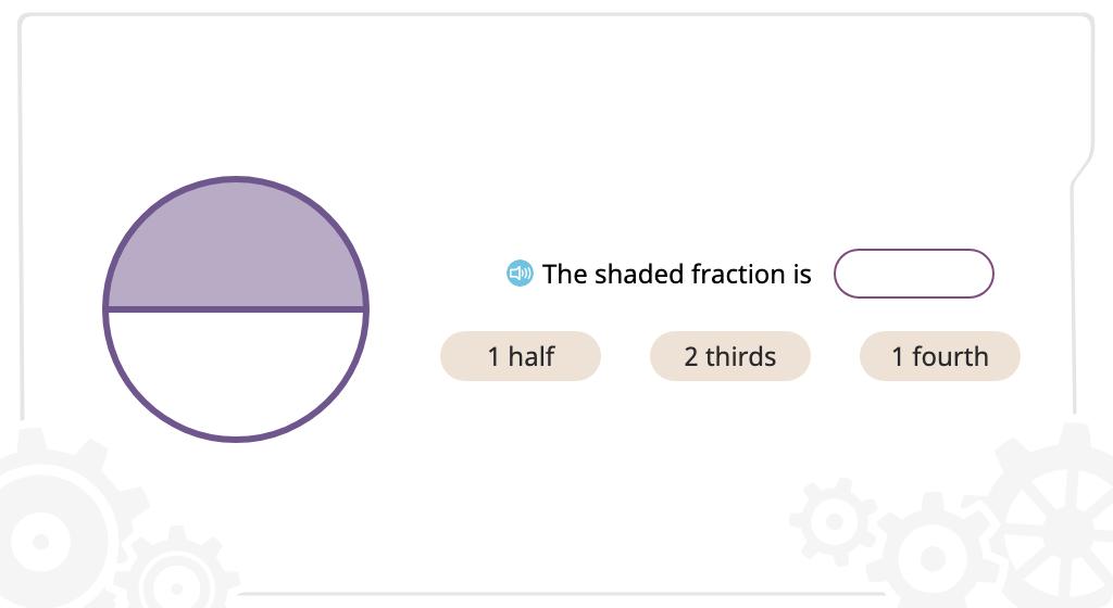 Identify unit fractions written in standard form