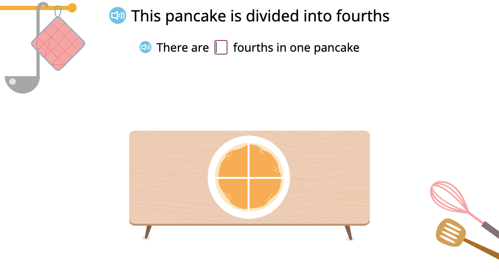 Solve problems involving multiple wholes and improper fractions