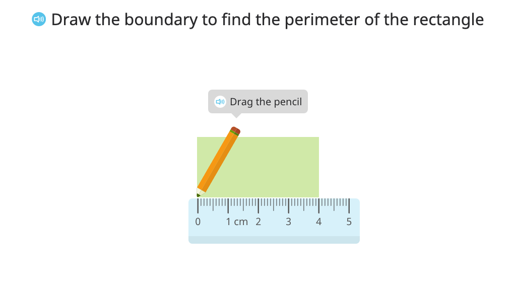 Identify the formula for perimeter of a rectangle and use it to solve a problem
