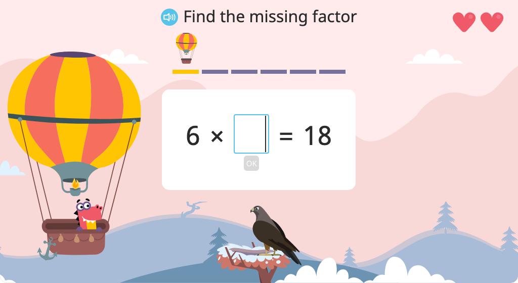 Solve single-digit multiplication problems