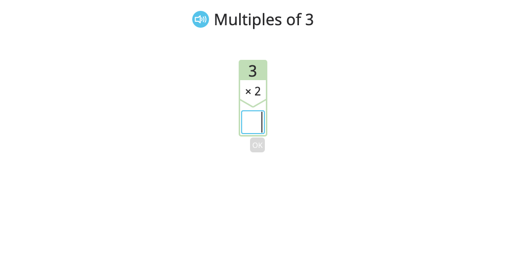 Determine multiples of a given factor