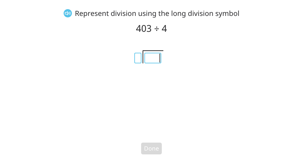 Divide across a zero using long division and a disk model (with regrouping and a remainder) (Part 2)