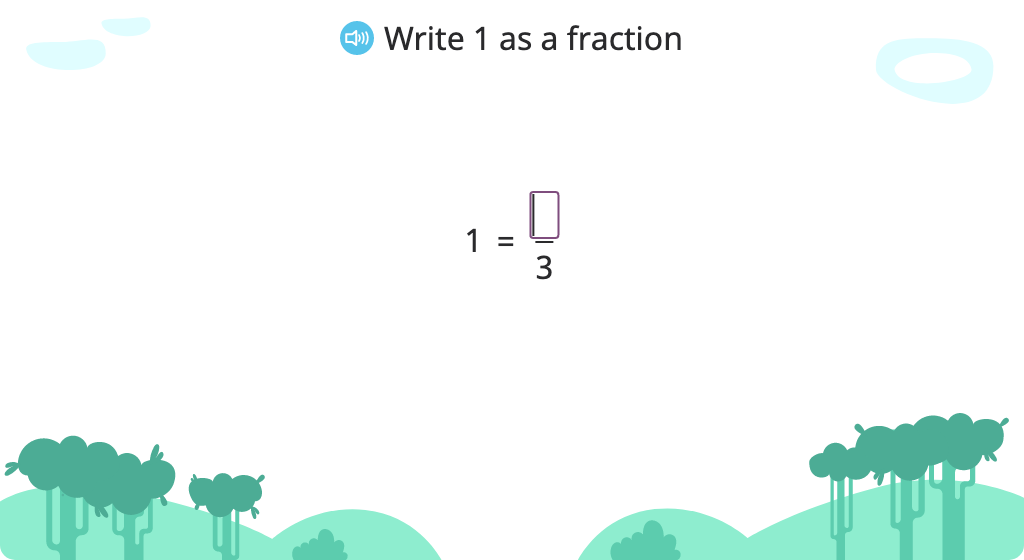 Add fractions with a common denominator and convert the sum to a mixed number (Level 1)