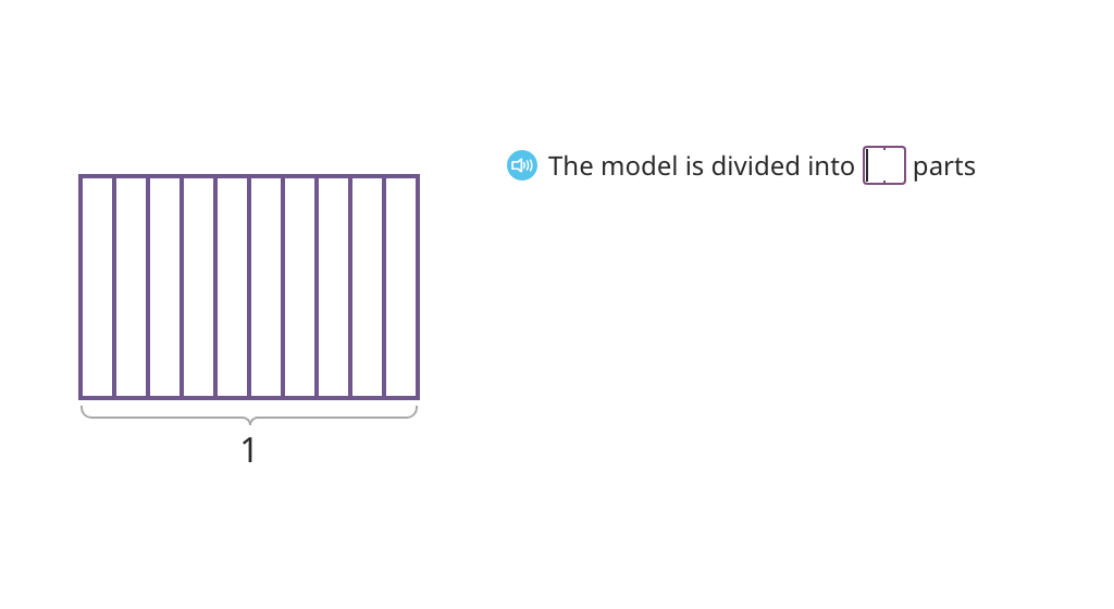 Record a fraction model as a mixed number or a decimal with tenths