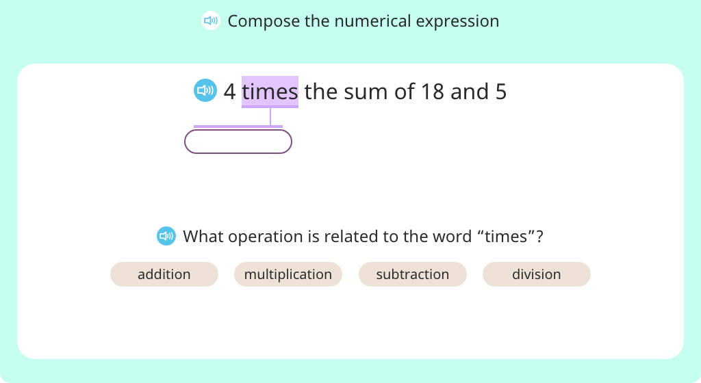 Compose complex numerical expressions based on a model (Part 1)
