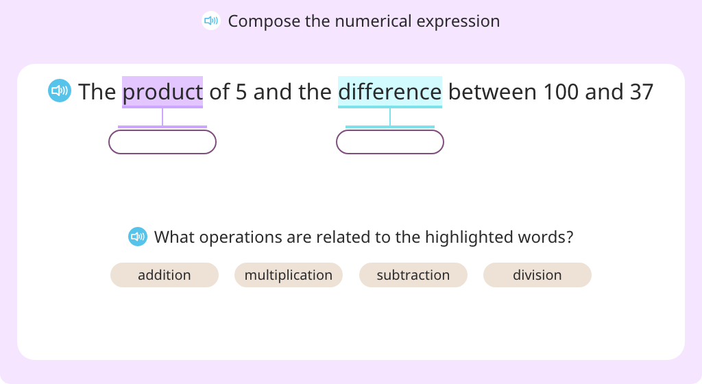 Compose complex numerical expressions based on a model (Part 2)