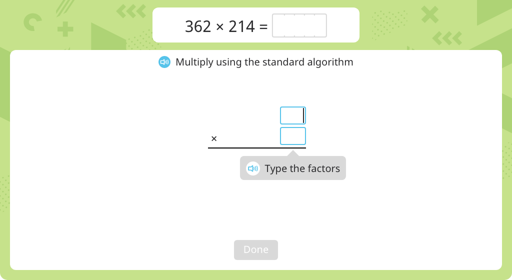 Multiply using the standard algorithm (3-digit by 3-digit) (Part 1)