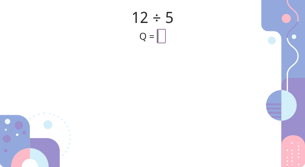 Find the quotient and remainder by subtracting the divisor from the dividend (Part 1)