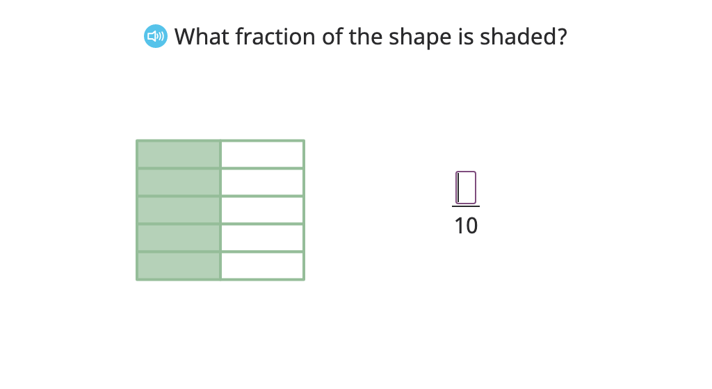 Write an equivalent fraction (smaller) based on a given divisor, numerator, or denominator