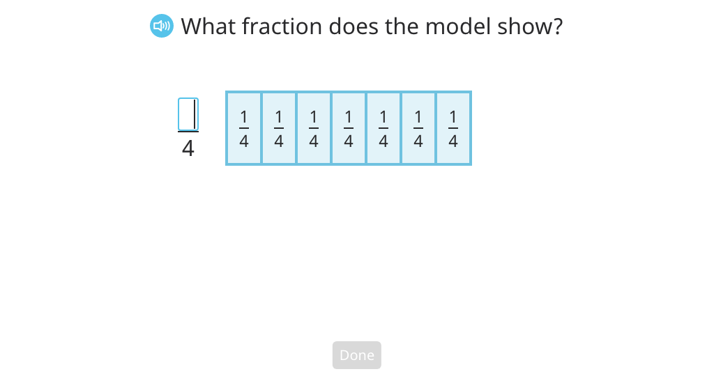 Rewrite an improper fraction as a mixed number