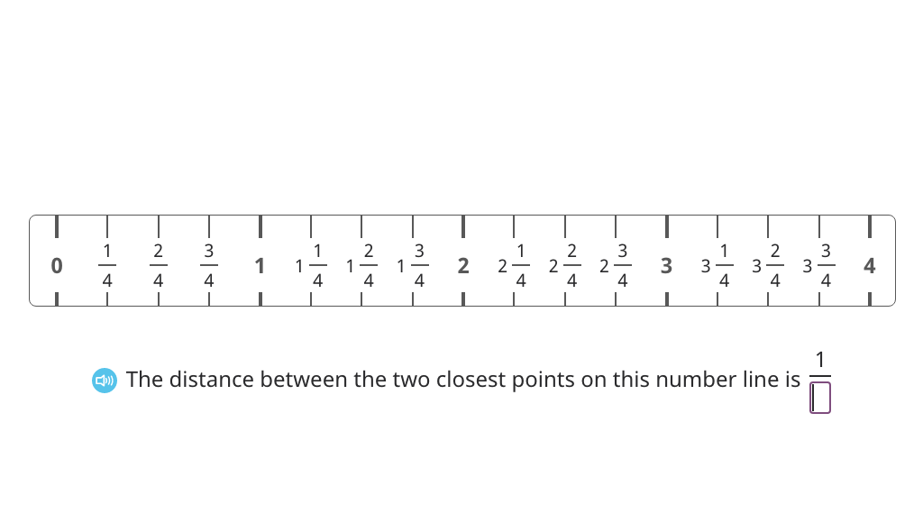 Round to the nearest quarter inch on a ruler