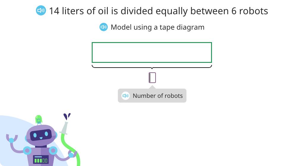 Solve fraction word problems based on a model (Level 3)