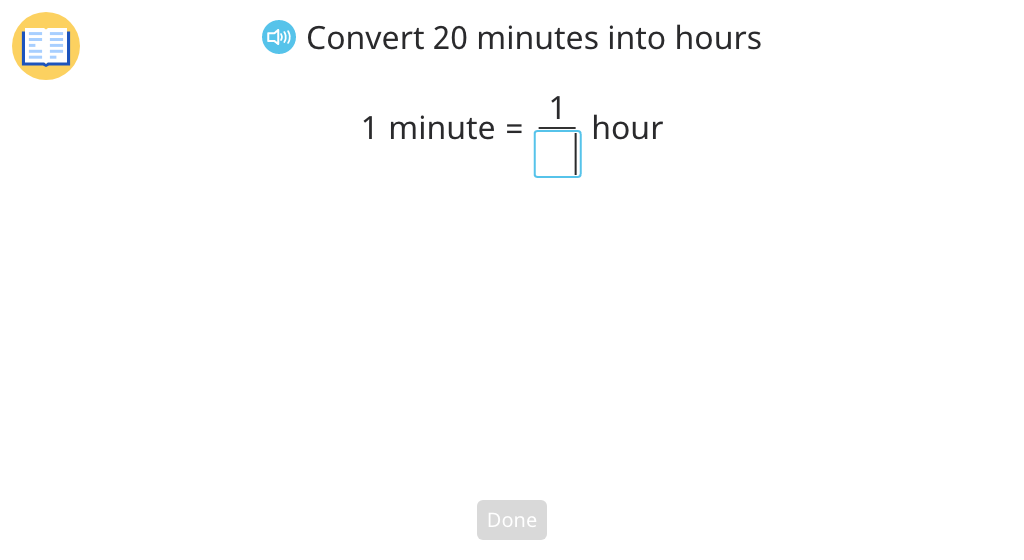 Convert measurements by multiplying fractions