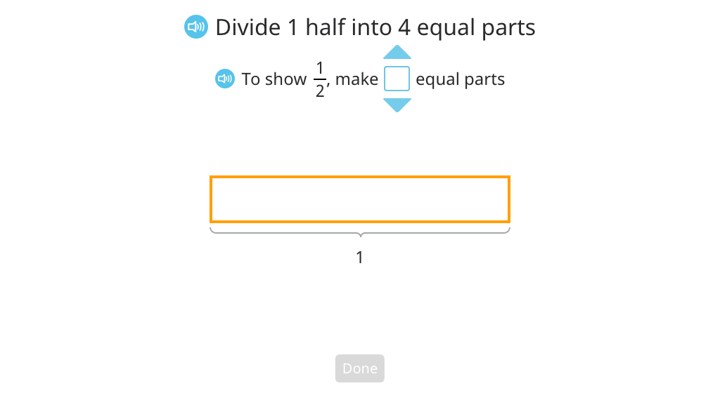 Divide a unit fraction by a whole number based on a tape diagram (Part 1)