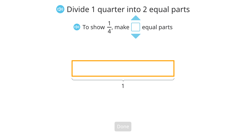 Divide a unit fraction by a whole number based on a tape diagram (Part 2)