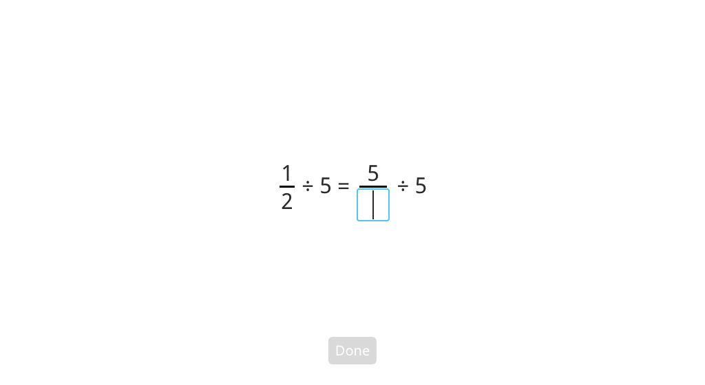 Divide a unit fraction by a whole number