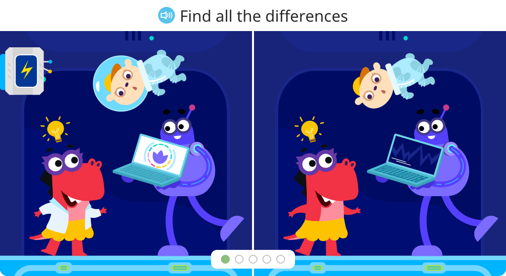 Identify differences between two similar images