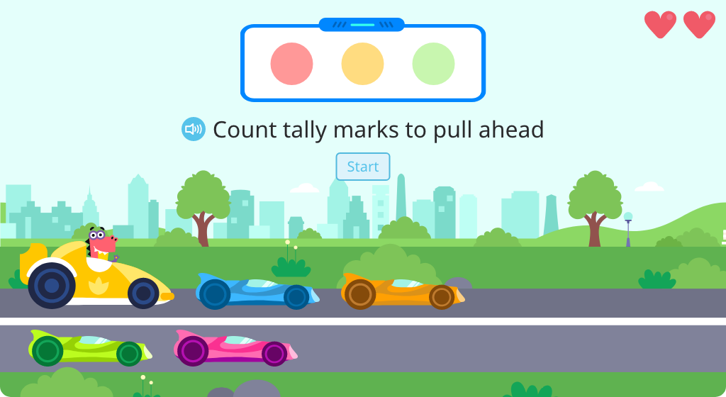 Identify totals of tally marks (Part 2)