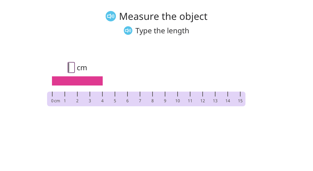 Add or subtract lengths of measured objects