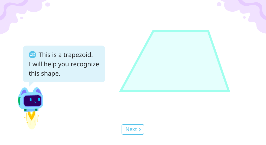 Identify a trapezoid