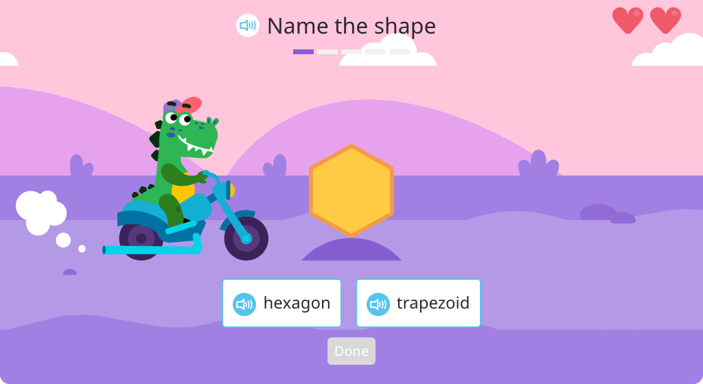Identify given shapes