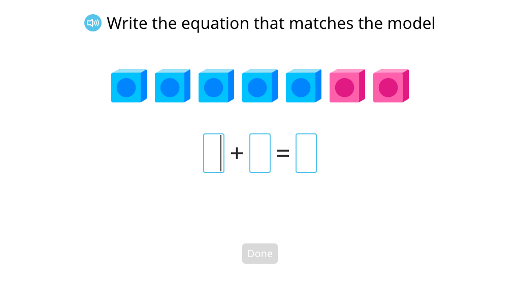 Model and solve an addition equation to show more than one way to reach a given sum (Part 2)